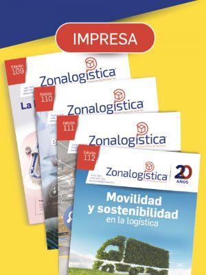 Revista Zonalogística (Física) - NO DISPONIBLE POR COVID-19