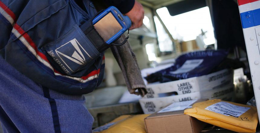 U.S. Postal Service Ride Along On The Busiest Mail Delivery Day Of The Year
