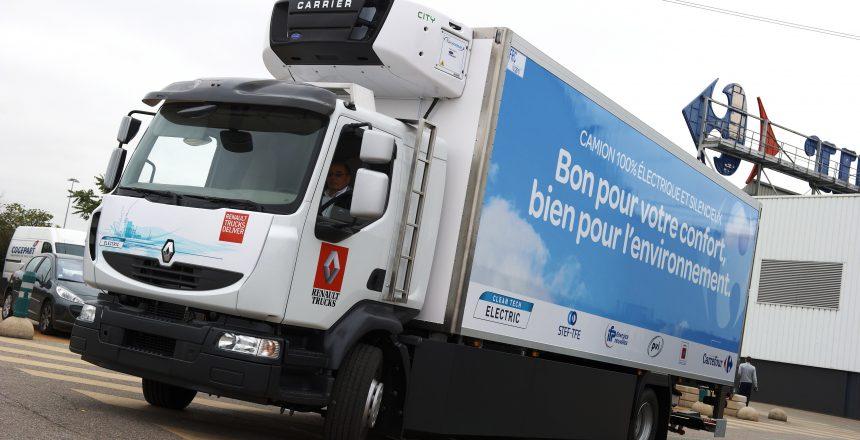 Zonalogística - Carros eléctricos para logística tipo camión